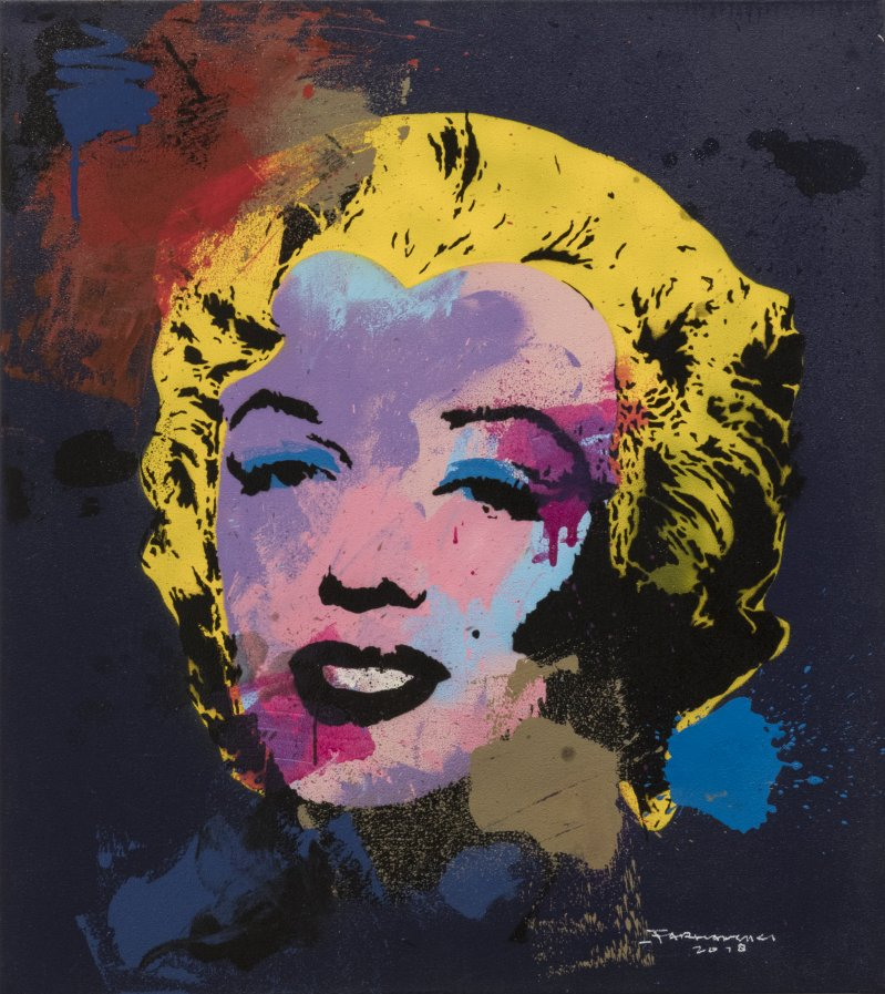 Splashing Marylin No.2