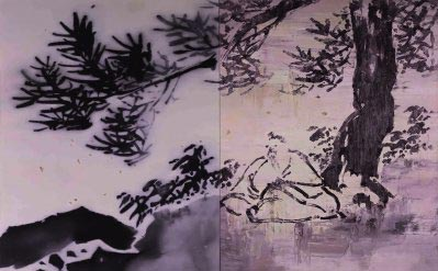 He Sen - Xu Wei No. 2 of landscape and figure series
