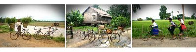 Aung  Ko - Bicycle project (Rain, Winter, Summer) – Rain