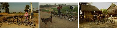 Aung  Ko - Bicycle project (Rain, Winter, Summer) – Winter