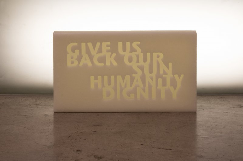 Give us back our sun humanity dignity