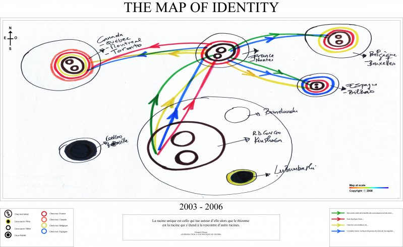 The map of identities series