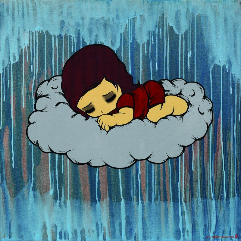 Dream about cloud island