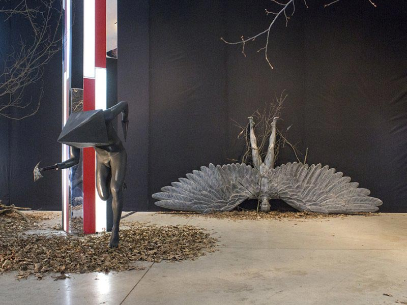 The Hunting Ground (Installation view)