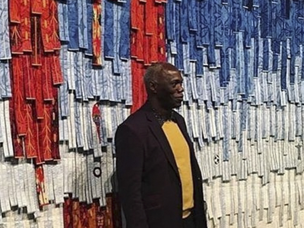 Abdoulaye Konaté at the 57th Venice Biennale